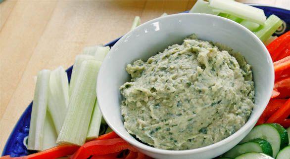 Basil White Bean Dip | Recipe