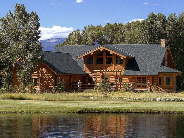 Beautiful Log Home Bebe 39 Log Homes Pinterest