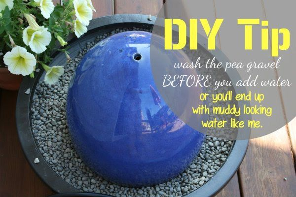 Simple Diy Water Features : DIY Fountain ~