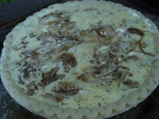 Caramelized Onions and Potato Quiche | Foodelicious | Pinterest