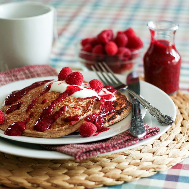 ... ://perfectpancake.futtoo.com/ Raspberry Oatmeal Protein... #pancakes