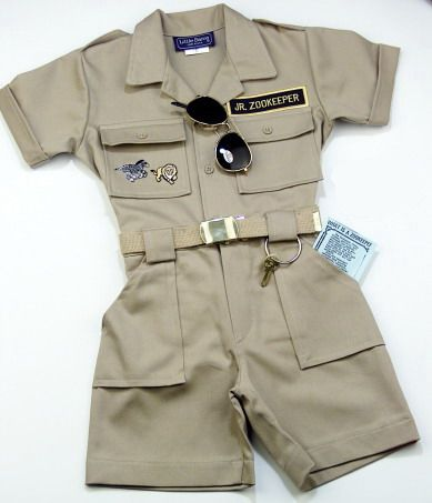 Jr Zookeeper Costume... I LOVE THIS... but it's $40.00, which equals ...