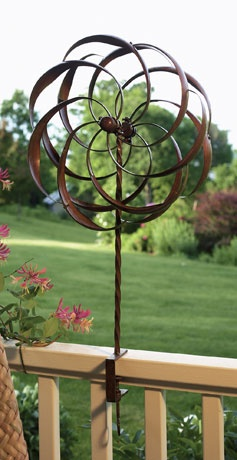 Garden Wind Spinner Staked Other Pinterest