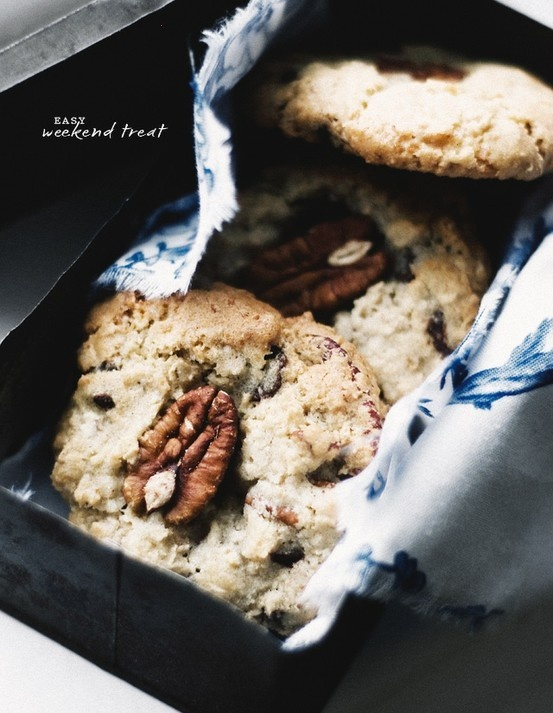 pecan, oat & choc chip cookies | Cookie Monster | Pinterest