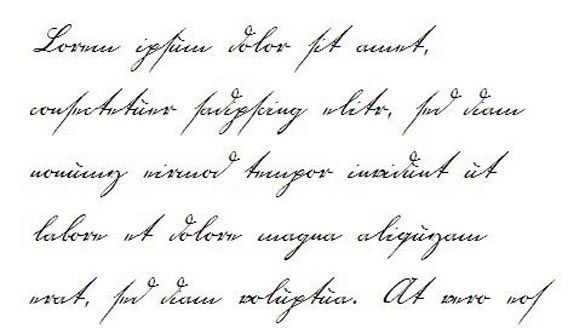 Different Types Of Handwriting Styles In English Tones Writing Style Is
