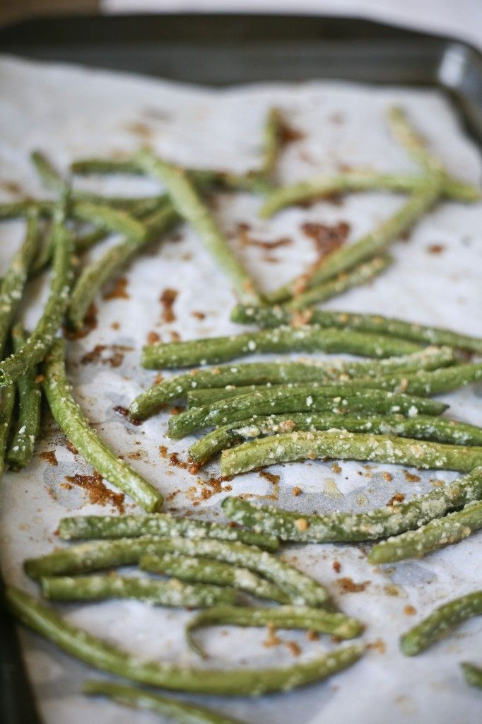 IMG 8682 1 682x1024 Roasted Parmesan Green Beans