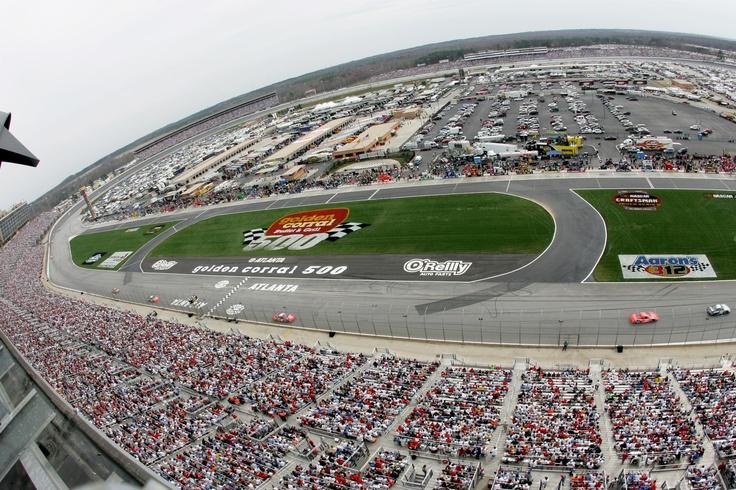 Atlanta Motor Speedway Racing Pinterest