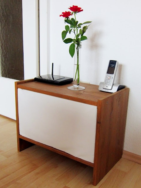 IKEA Rast nightstand to hide cables | DIY | Pinterest