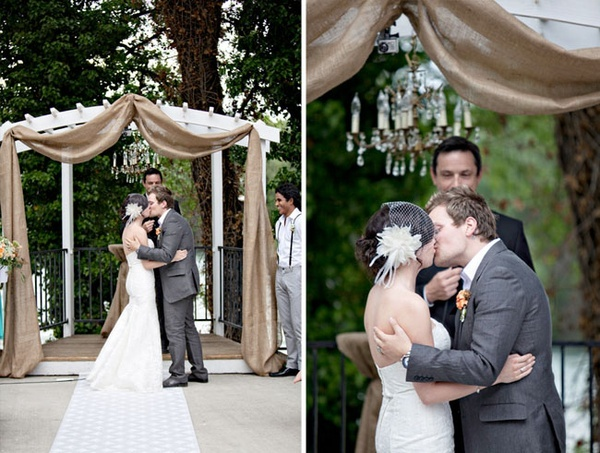 Rustic Wedding Arch #sparklingeverafter!