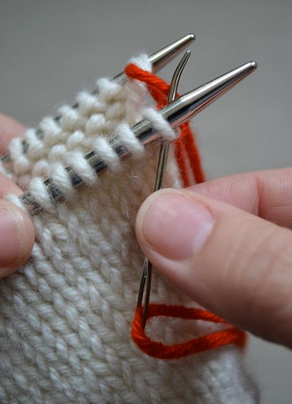 Kitchener Stitch - Knitting Tutorials: Finishing Techniques - Knitting ...