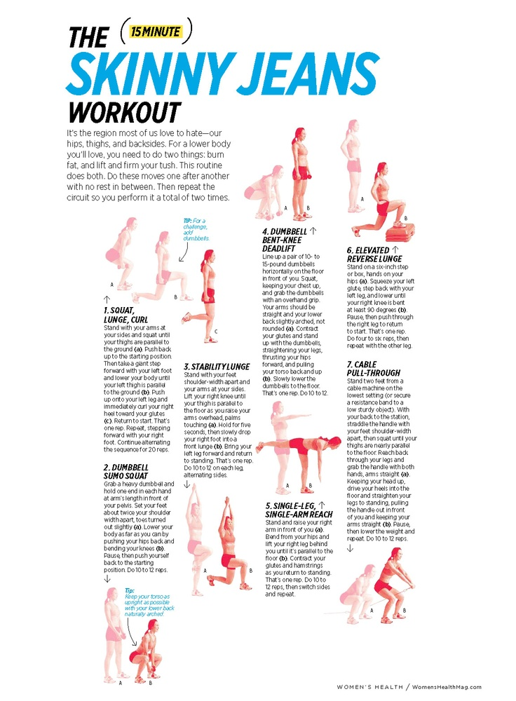 The (15 Minute) Skinny Jeans Workout