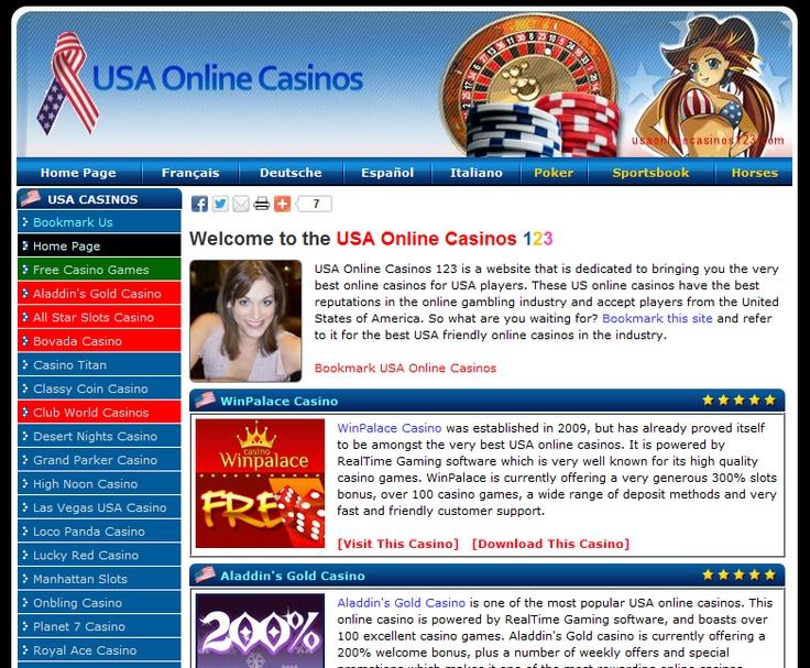 Online casinos usa friendly circus circus casino in las vegas