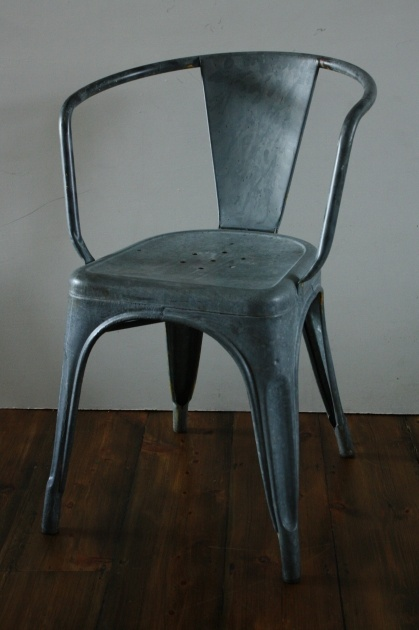 Vintage metal tolix french cafe chair for the home pinterest