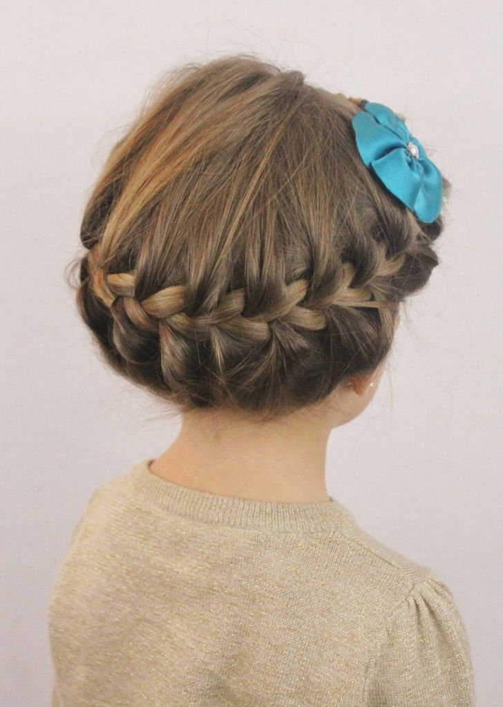 8 Easy Little Girl Hairstyles me likey