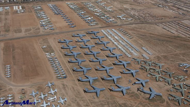 Pin by AirplaneMart.com on Military Aircraft Boneyard