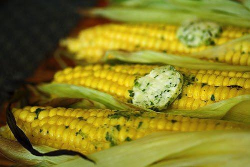 Basil Butter Corn on the Cob   Yum   Pinterest