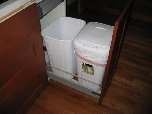 Trash pull out ikea fans kitchen pinterest - Ikea cabinet trash pull out ...