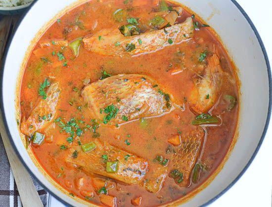 Fish stew recipe dishmaps for Tomato fish stew