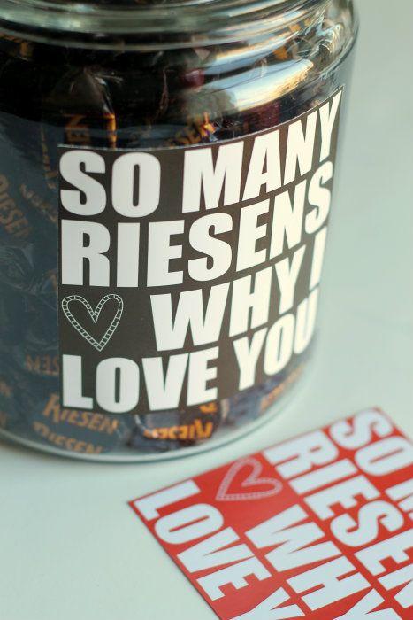 Valentine's Riesen Jar