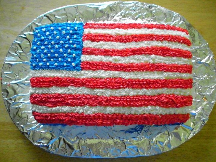 American Flag Cake | Cakes | Pinterest