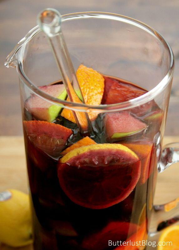 Classic Sangria {Butterlust Blog} | Recipes | Pinterest