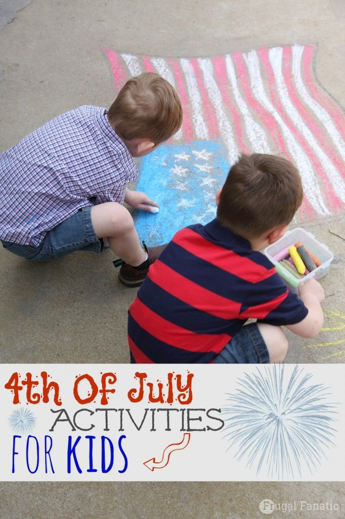 4th july activities california