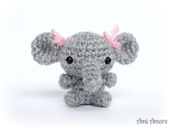 Amigurumi Elephant - Crochet Animal Plush