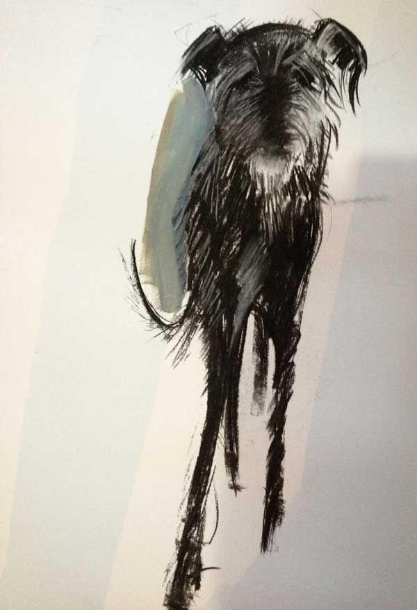 Собаки в искусстве 6d857e54df43c88b7b31b27f9d091aee