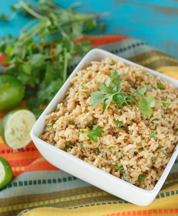 Cilantro Lime Brown Rice, just like at Chipotle! Perfect for burritos ...
