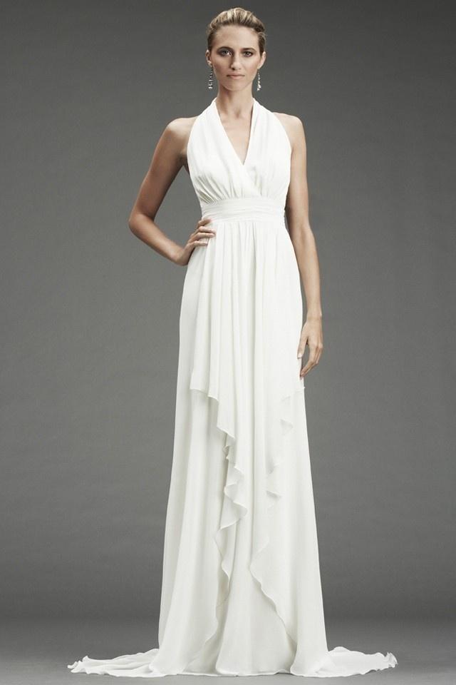 Flowy Wedding Dress Wedding Ideas Pinterest