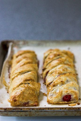 Hungarian Sour Cherry Strudel | The Bakery | Pinterest