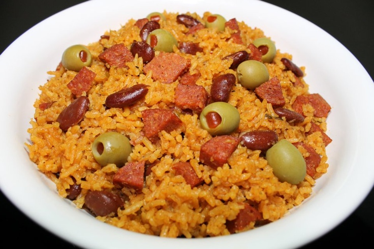 Spanish Rice & Bea...