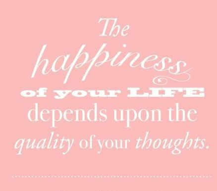 Think happy thoughts ♥ #quote #life #thoughts #happiness #positive
