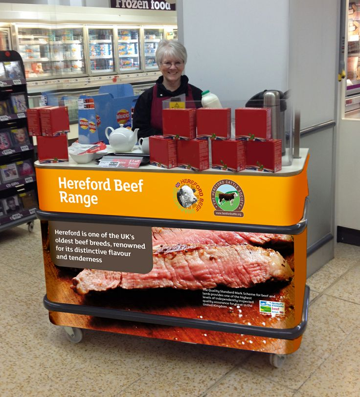 A Hereford Beef Sample Unit