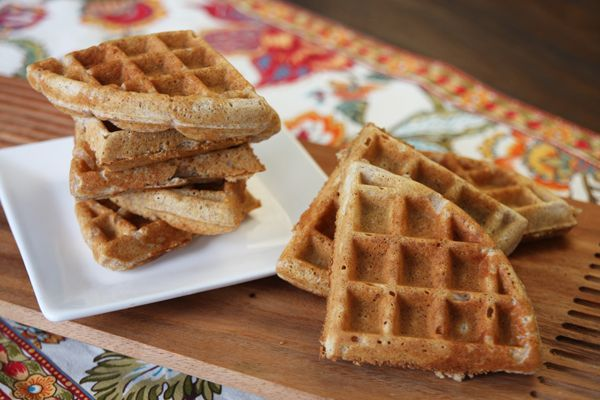 Healthy Whole Grain Waffles | Meals | Pinterest