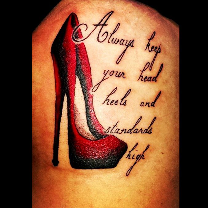Stiletto rib tattoo by audrey mello tattoo ideas and for Stili tetto tetto