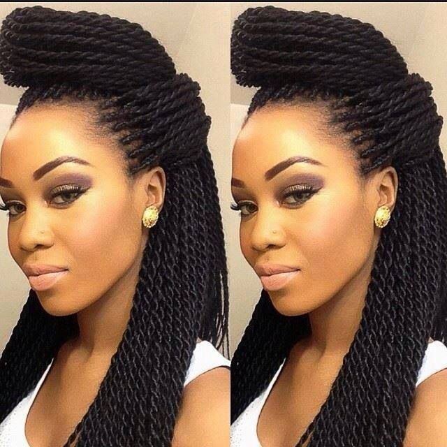 Single Lees Twist Braids Styles