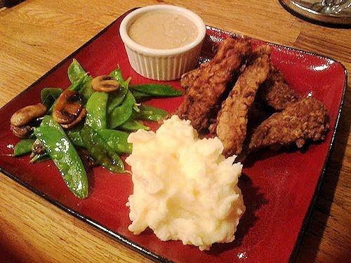 Country Style Steak Fingers, White Gravy & Italian Flat Beans ...