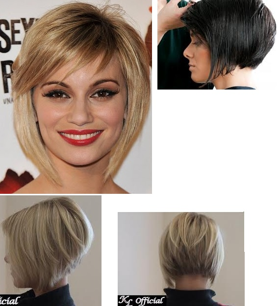 Angled Bob Pictures Show Front And Back View | LONG HAIRSTYLES