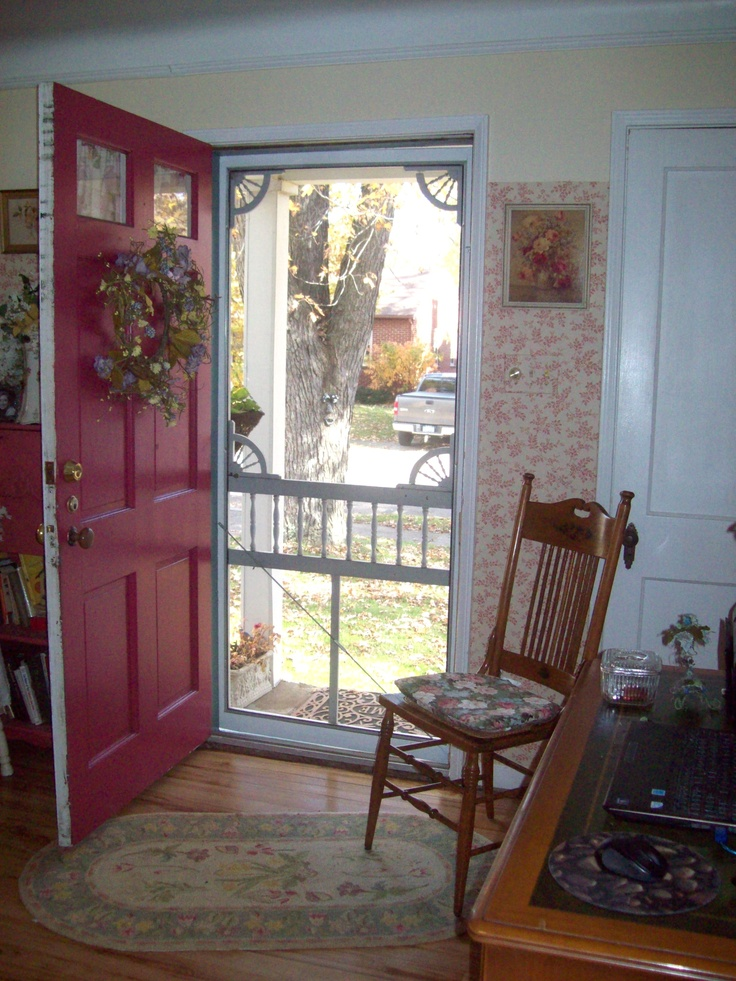 Cottage front door front porch pinterest for Cottage style front doors