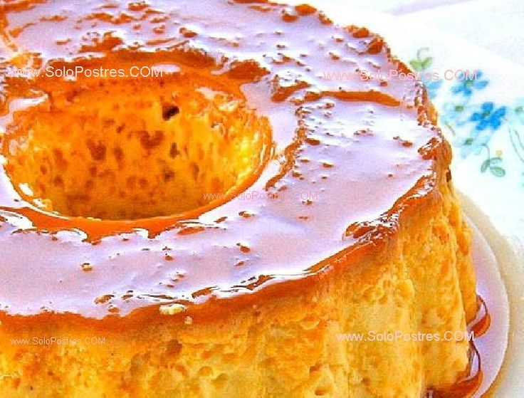 Flan de dulce de leche | Cooking & Eating | Pinterest
