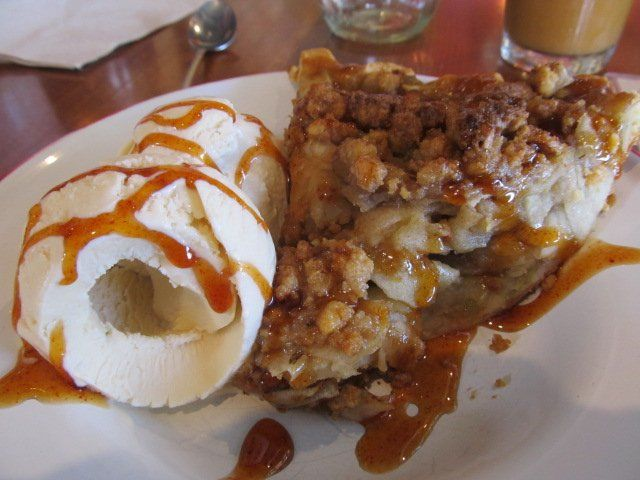 Green Chile Apple Pie W/ Walnut Streusel & A Cheddar Cheese Crust W ...