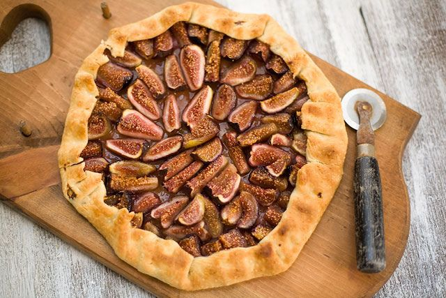 Fig Galette | Pies, Tarts & Cobblers | Pinterest