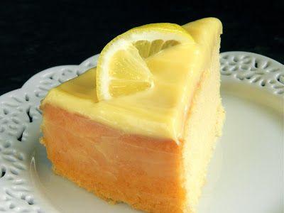 ... The Cake Slice Bakers April 2013 - Lemon and Almond Streamliner Cake