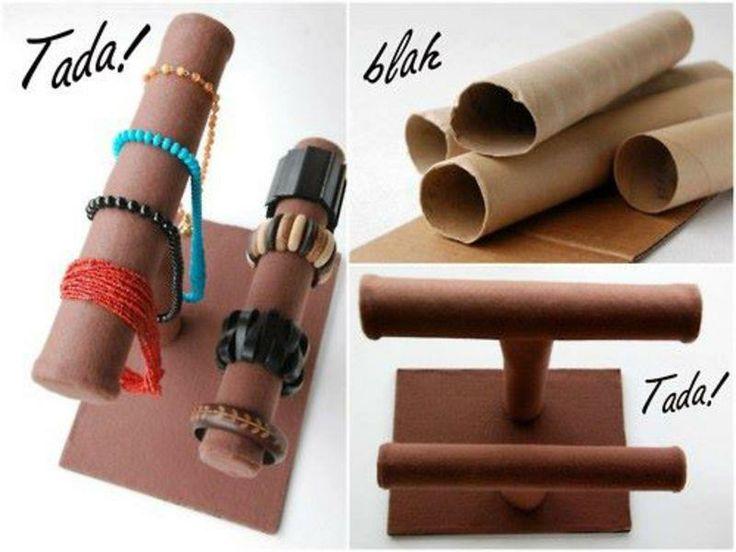 Bracelet holder diy crafts diy pinterest for Bangle organizer diy