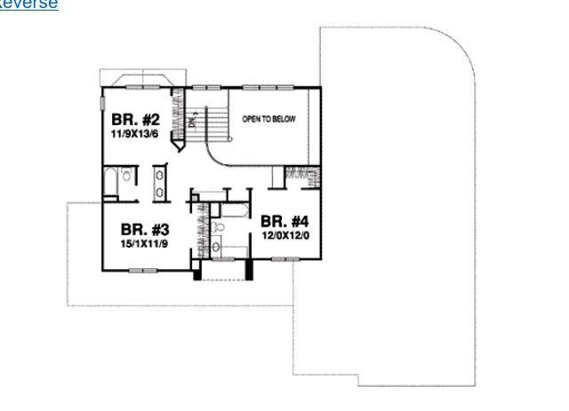 2nd floor of house plan #grey | Sims House Designs & Ideas | Pinterest: pinterest.com/pin/352266002075503736
