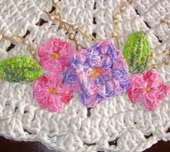 PASSO A PASSO COMO TINGIR BARBANTES de algodão cru, com tinta para pintura em tecido, dando um efeito mesclado.