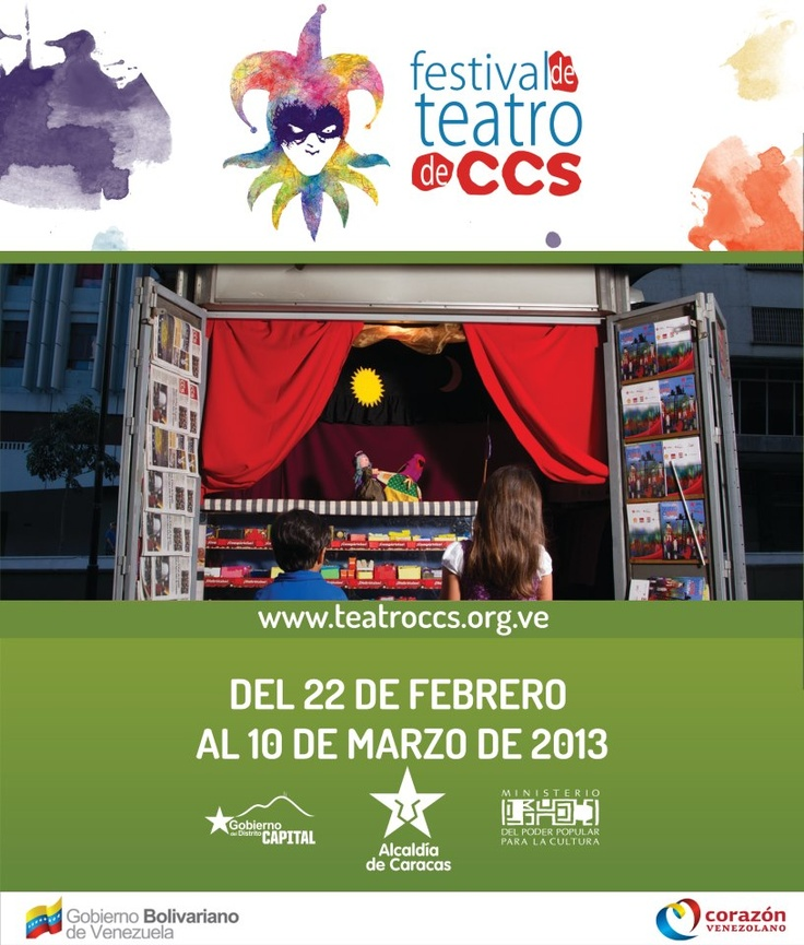 festival de teatro de caracas venezuela 2013