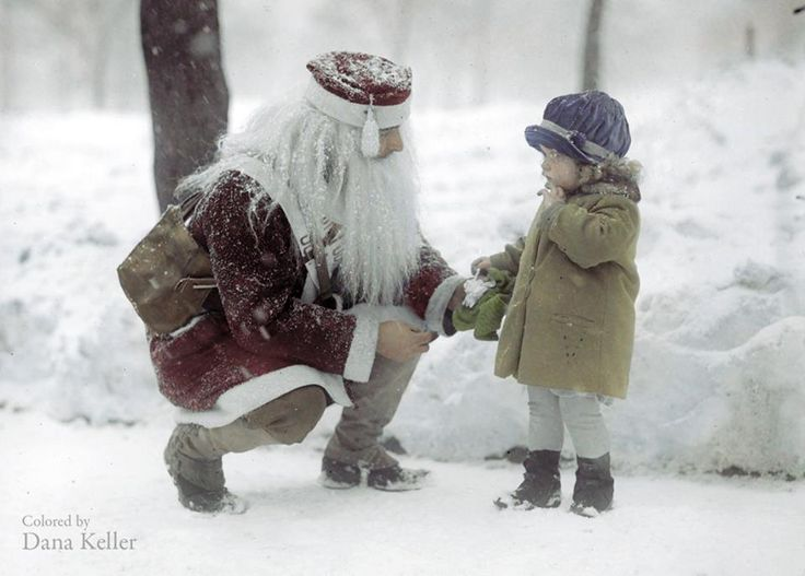 History in Color | CHRISTMAS CARDS..... | Pinterest: pinterest.com/pin/501377370989360868