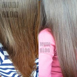 Srebrny zimy połysk na brązowych włosach - płukanka z gencjaną